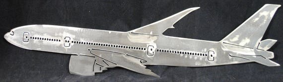 Jet Liner, Metal Art Airplane, Aircraft, Aviation, Airplane Pilot Gift, Airport, Airplane, Aviation Gift, Airplane Gift, Gift for Dad or Mom