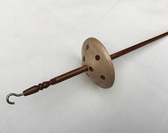 Maple/sheesham drop spindle