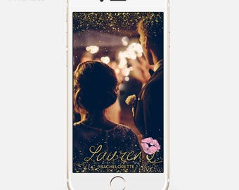 LIMITED TIME! Snapchat Bachelorette Filter, Snapchat Geofilter Birthday, Custom Hen Party Geofilter, Bachelorette Geofilter, bar77