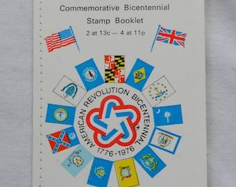 American Revolution Commemorataive  Bicentennial Stamp Booklet 1776-1976  Rare