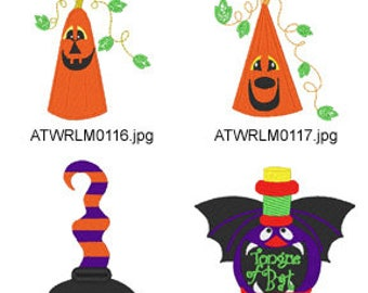Halloween-Potions ( 8 Machine Embroidery Designs from ATW ) XYZ17H