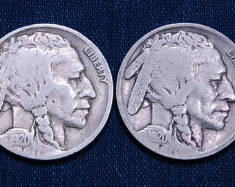1920 and 1920-S Buffalo Nickels