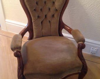 Late Victorian nursing chair