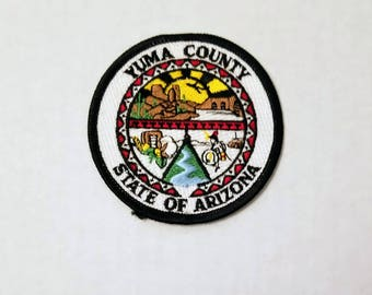 Yuma County, Arizona - Vintage Patch for Jackets, Backpacks, Jeans/Clothing, Costumes, Crafts