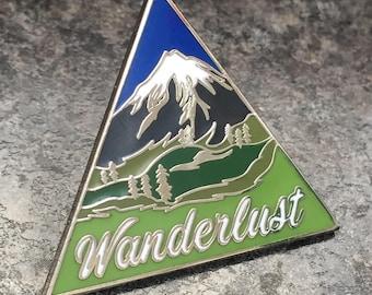 Wanderlust Enamel Pin Badge | Travel, mountains, wildlife & nature | Lifestyle