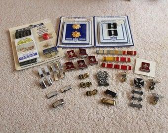 Vintage Military Pins