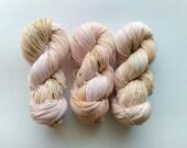 Hydrangea - Organic Sock (Treated Organic Merino/Nylon)