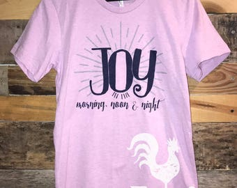 Joy in the Morning, Noon and Night - adult sizes