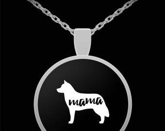 Siberian Husky Mama Necklace