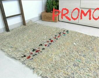 PROMO work of ART boucherouite rug