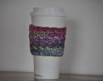 Coffee Cozy | Coffee Sleeve | Crochet Coffee Cozy |  Crochet Coffee Sleeve | Hot Coffee Sleeve | Reusable Coffee Sleeve | Coffee Cup Cozy