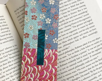 Pink Butterfly Bookmark
