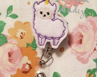 Llamacorn Badge Reel