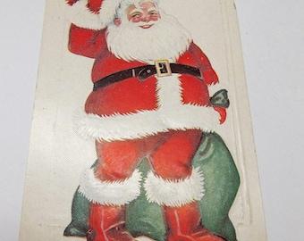 Vintage Santa Postcard 1920s