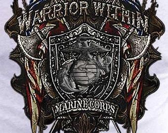 Warrior Within Marine Corps T-Shirt