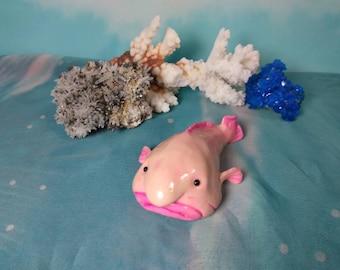 Blobfish sculpture, blob fish sculpture, Blobfish figurine