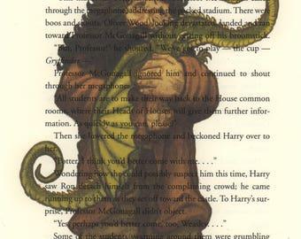 Hagrid Art Print, Harry Potter Art, Harry Potter Book Print, Harry Potter Nursery, Harry Potter Gift, Harry Potter Decor, Harry Potter