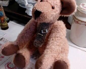 Artis mohair bear, handmade