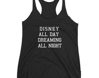 All Day Disney Tank Top