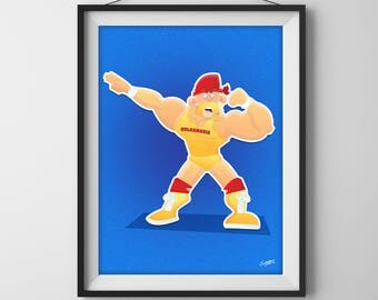 Hulk Hogan - WWF(E)/WCW/nWo Superstar Illustration