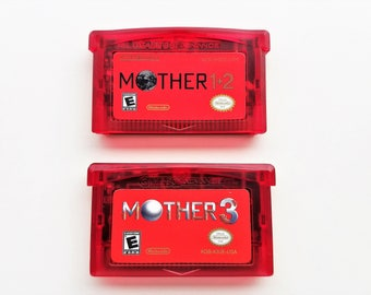 Mother 1 + 2 + 3 (ALL GAMES) English Fan Translation - Earthbound  Nintendo Game Boy Advance GBA Custom Cart