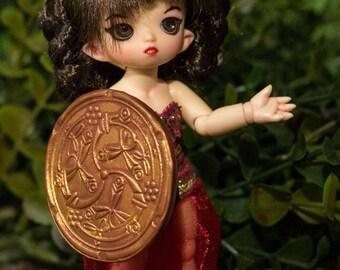 BJD Pukipuki Bronze Shield