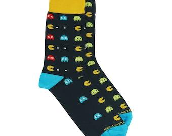 Bamboo MidCalf Socks - PACMAN - Funny Socks