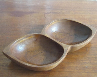 Teak bowl from the 60s