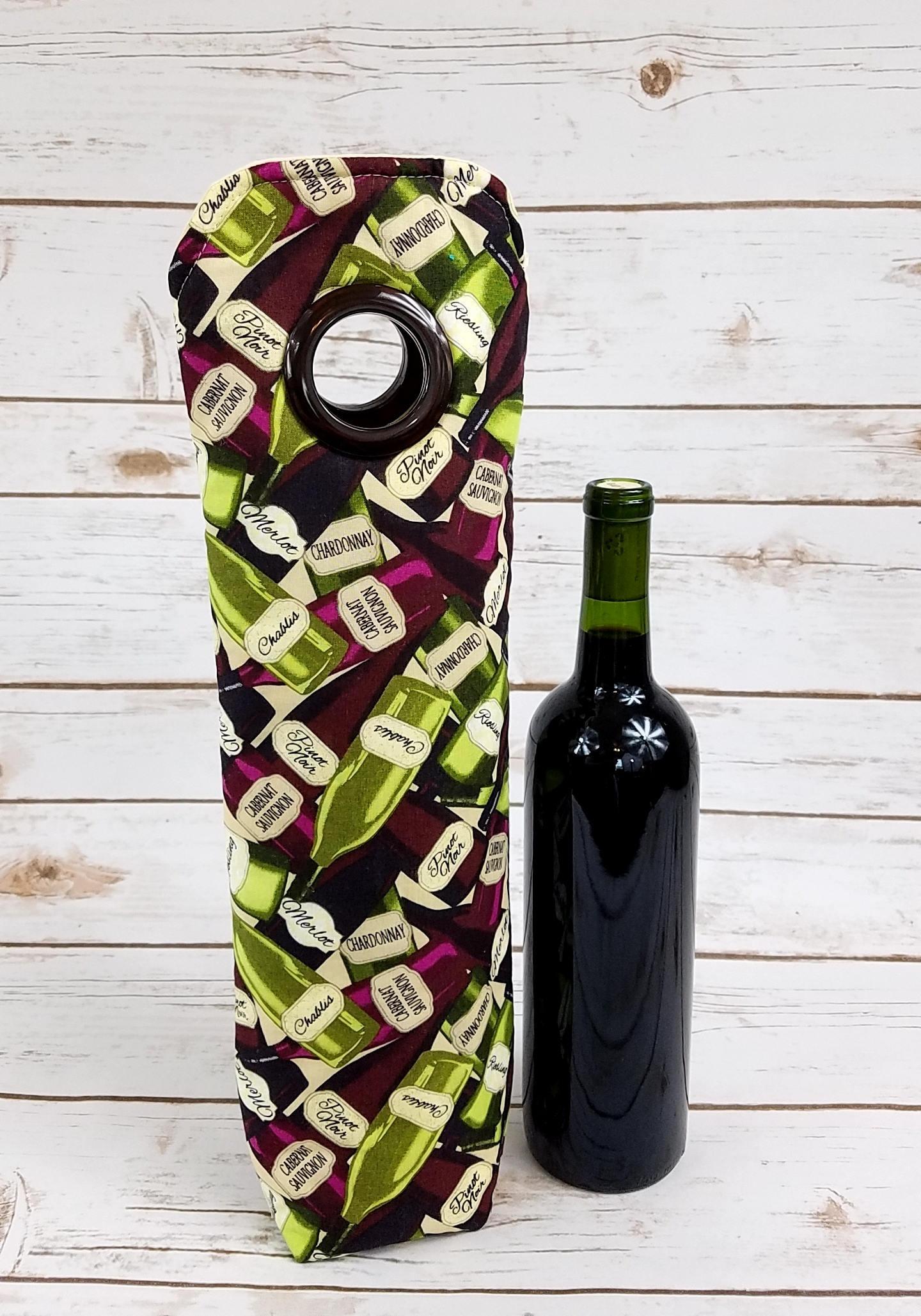Wine Themed, Wine Tote, Wedding Gift, Hostess Gift, Weekender Bag ...