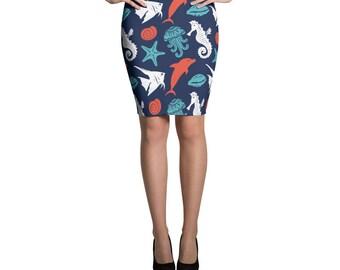 Ocean Life Skirt