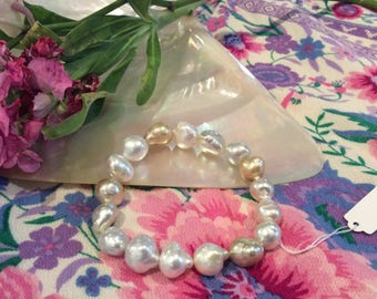 South Sea Champagne Pearl Bracelet #3288