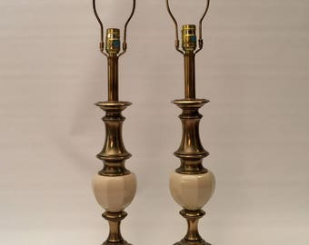 One Pair of Vintage Stiffel Table Lamps
