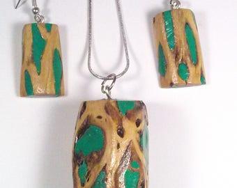 Green Cholla Jewelry