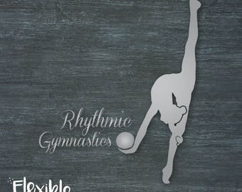 Rhythmic Gymnastics Ball Iron-On Transfer