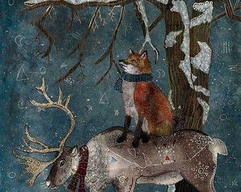 Animal Folk Art Etsy