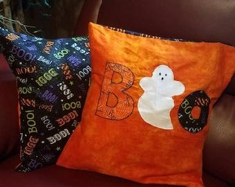 Holloween Applique Pillow Cover