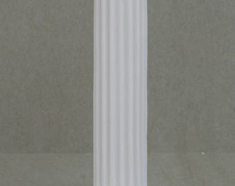 "Greek Column Ionic Order Ancient Decoration Architecture Alabaster 10.2"" Free Shipping"