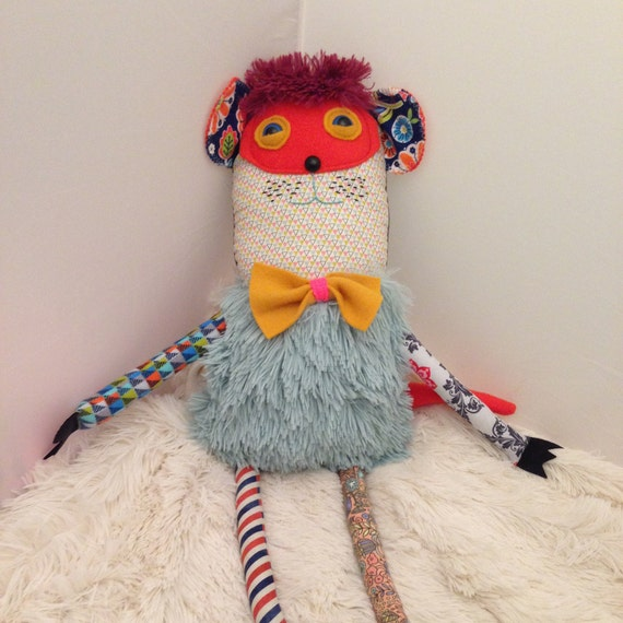 Unique Baby Toys : Items similar to cute handmade monster plush toys for kids