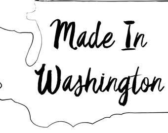 Made In Washington Illustration