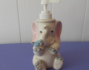 elephant soap/lotion pump