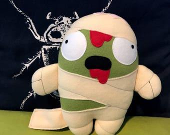 Mummy Zombie Plush