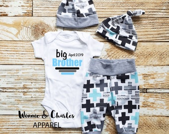Big Brother outfit, Big Brother Announcement shirt, Sibling Shirt, Sibling Outfit, baby gift, Baby announcement