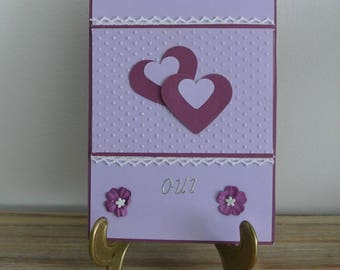 Card - Marriage card Valentine's day