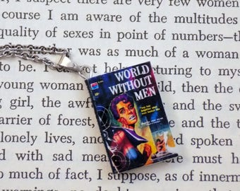 World Without Men - Book Pendant