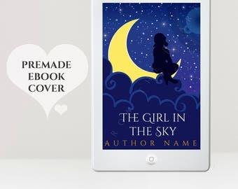 Children's eBook Cover - Premade eBook Cover - Kids Book Cover - Child eBook Cover - Kindle Cover - eBook Cover - Stars Cover