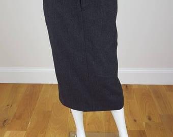 RALPH LAUREN Wool Midi Skirt US 6