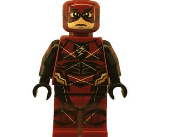 LEGO minifigures Custom The Flash Mark 2 Made with Original LEGO Parts