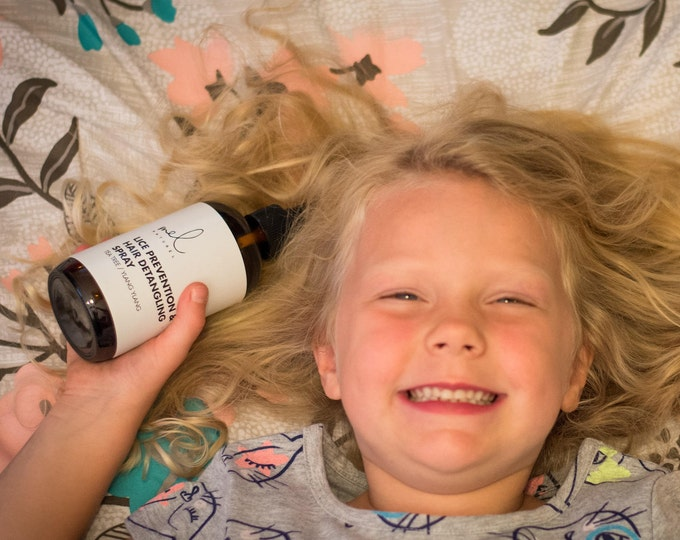 Natural Lice Prevention & Hair Detangling Spray
