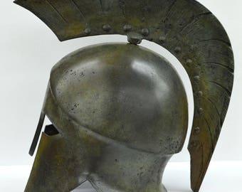 Corinthian Bronze helmet - Museum Reproduction - Ancient Greek Spartan Armor