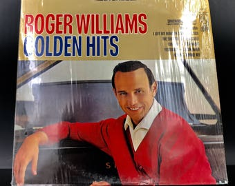 JAZZ VINYL RECORD: Roger Williams - Golden Hits / Vinyl Record - Jazz On Vinyl - Rare Vinyl - Great Gift!